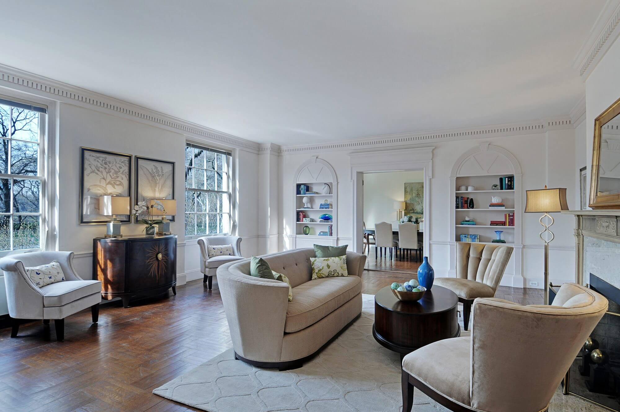 1120 Fifth Avenue Apt. 3C - Living Room