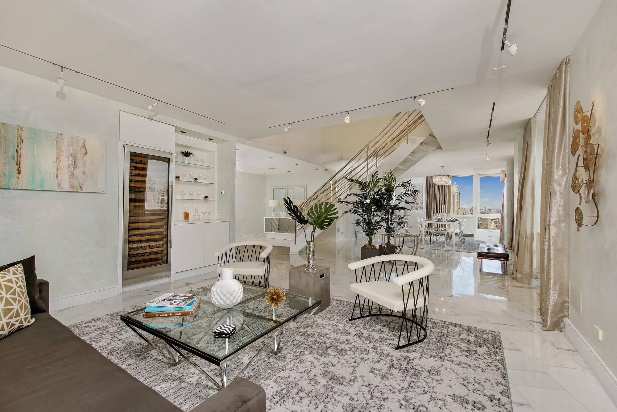 300 East 77th Street Apt. 27/28B - Living Room
